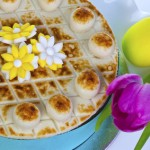 Decorated Simnel cake