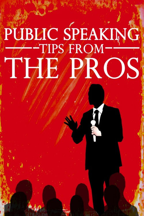 Public Speaking Tips From The Pros - Ebook