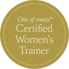 OneofmanyCertifiedWomensTrainer_Roundel_Gold